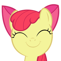 Smile Apple Bloom! by TechRainbow
