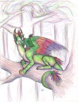 up in the trees by skyesprinter