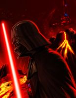 Darth Vader Mustafar Nostalgia by LaRhsReBirTh