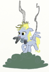 Derpy is use thunder magic :D by Tiger-the-pegas