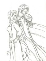 Ebonivor and Hailey Storm by RedJoey1992