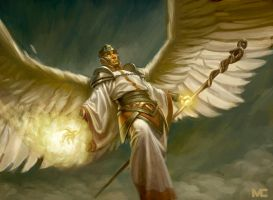 Mage Angel by capprotti