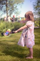 My soap bubble by Theikker