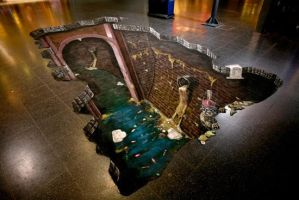3D illusions: Sewer sales by Man-Of-World