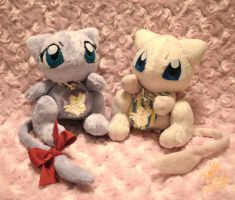 Mew And Mew by CoffeeCupPup