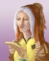 Rogue Speed Painting by AutumnEmbers
