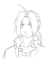 Edward Elric by DREAM-to-live