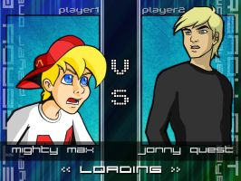 Max vs Jonny, Round One by Jack-Stark