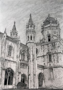 Jeronimos Monastery by Your-Sweet-Death