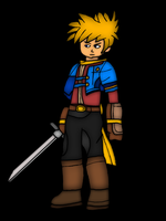 Matthew - Golden Sun Dark Dawn by TheShroomie