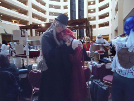 Undertaker and Grell by melodydaisy