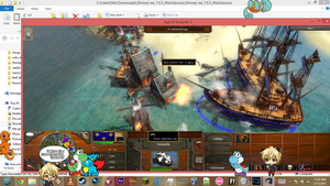 Shimejis love Age of Empires III by D-With-A-Hat
