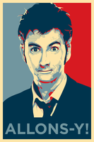 David Tennant Allons-y! by StewNor