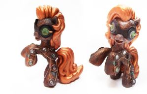 My Little Steampunk Pony by onegreyelephant