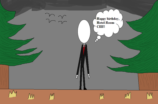 Slenderman's Birthday Wish. by Rosie-Love98