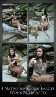 Native American Pack 1 by lindowyn-stock