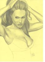 Angelina Jolie by M-lovedAngel