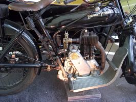 Motorbike Engine Close Up 2 by BonnySaintANdrew
