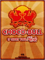 Final Fantasy VII - Choco-Bull Energy Drink by ReverendRyu