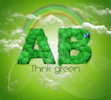 Think Green by creative-candy