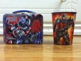 OP Mini Lunch Box And Cup by KristenitaPrime7