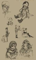 Enemy Ace Doodles by JadineR