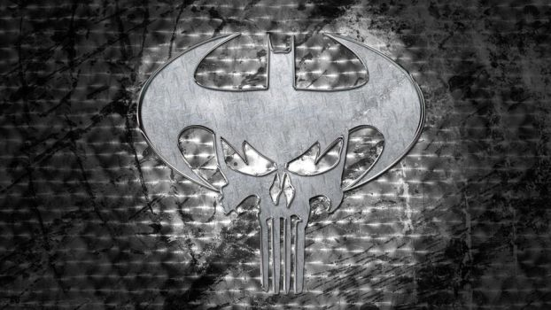 Batman and Punisher logos by joshepi2010