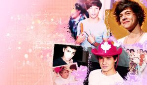 One Direction Wallpaper by LovingSellyGrande
