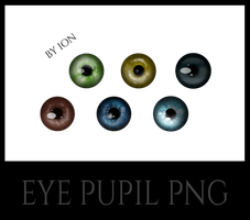 EYE PUPIL PNG by erool