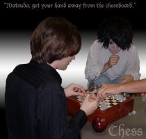 Death Note Cosplay:  Chess by RosaLui