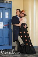 Doctor Who Photoshoot: Seriously Jack? A Dalek? by StrangeStuffStudios