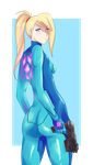 Samus Aran by MiniMilks