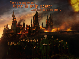 """Only Power"" DH Wallpaper by KMeaghan"