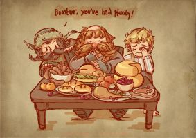 Bombur, you've had plenty! by haleyhss