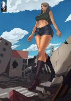 Giantess Stomping Grounds by giantess-fan-comics