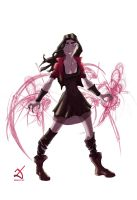 Scarlet Witch by Debarsy