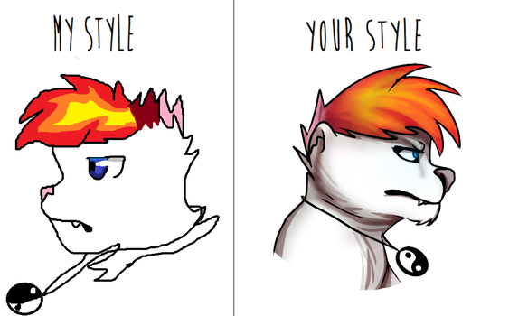 My style/ your style meme by JrMonthra