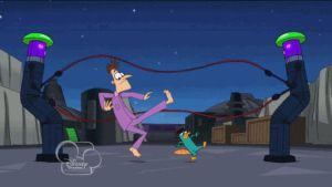 The Double Dutch Fight (animated) by jaycasey