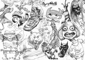 Sketches and Doodles 05 by phoebus-chango