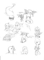 Doodle Dump 1 by Lunaoverthecow