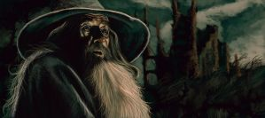 Gandalf by DiscoveringArtWorld