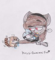 Baby Mordo Baby Rigs and Marcela XD by Krys-DamianiFoo