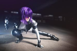 Merry All-Nighter - Motoko Kusanagi by Avrasil