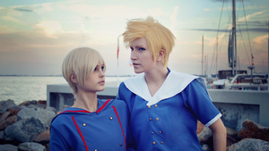 Hetalia cosplay // Denmark and Norway by DAIxSORA