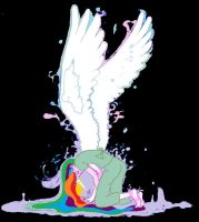 another rainbow dash by AppleCider1412