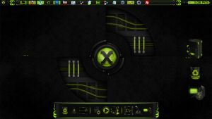 Reactor-X Dock and Icons by Mr-Blade