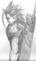 Zack Fair by kitsunechibi8