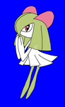 Kirlia innocently begs for attention by aoi-watarimono