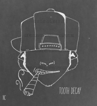 Tooth decay by kidcarnival