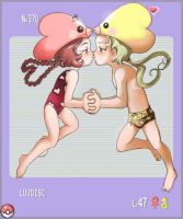 Luvdisc for Pokedex by Tidi-Lebre
